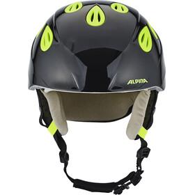 Alpina Grap 2.0 Ski Helmet Juniors black-neon-yellow